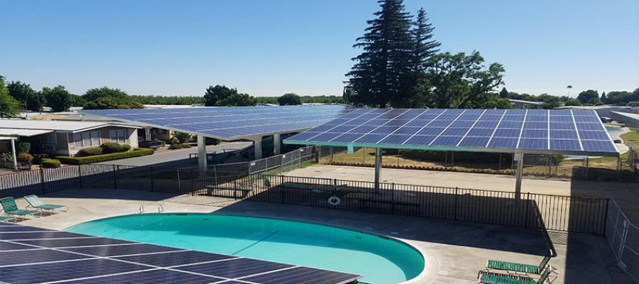 Carport Solar Structure Shorebreak Energy Developers